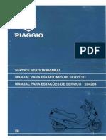 Piaggio X9 125 180 servis manual