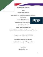 Finance Final Report of Midas