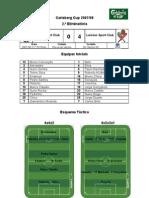 Varzim SC vs Leixões SC (2.ª eliminatória - Carlsberg Cup 2007-2008)