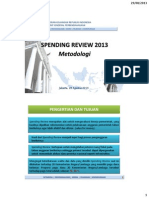 DJPB Spending Review