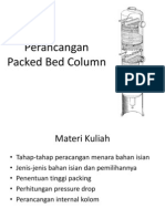 Perancangan Packed Bed Tower