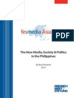 The New Media, Society and Politics in the Philippines