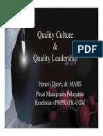 Hanevi- Budaya Dan Kepemimpinan Mutu