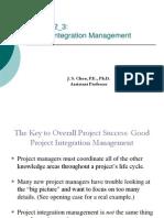 PM_Lecture 2_3-Project Integration Management