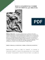 Evola - Sobre Lo Heroico y Lo Sapiencial