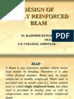 Design of Singly Reinforced