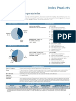 05 Euro Aggregate Corporate Index Factsheet