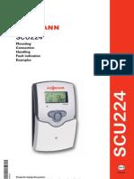 Viessmann, SCU224-Solar Control Unit for Multi-Load Solar Systems Installationand Operating  Manual