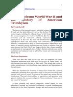 American Trotskyism in WW 2