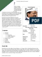 Arvind Kejriwal - Wikipedia, The Free Encyclopedia