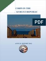 Peace Corps Annual Report Kyrgyz Republic 2012