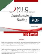 MIG Capital -Introducción al Trading