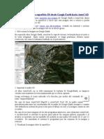 Como Importar Una Superficie 3D Desde Google Earth Hacia AutoCAD