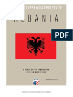 Peace Corps Albania Welcome Book | November 2013 'CCD'