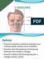 4. Sinusitis Maksilaris