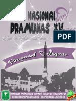 Proposal Delegasi Pramunas (1)