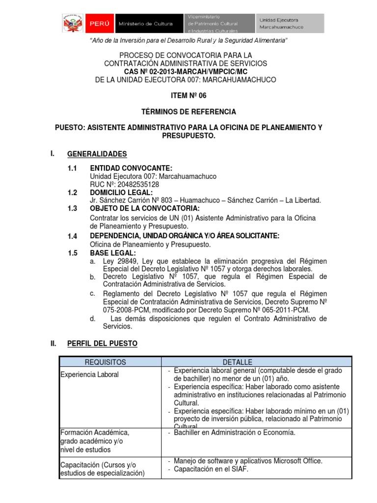 Lujoso Reanudar Asistente Administrativo Sin Experiencia Previa ...