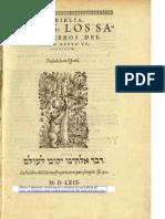 (Biblia Del Oso) Nuevo Testamento - Valera 1569