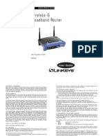 Linksys Wireless-G Broadband Router WRT54G