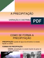 A PRECIPITAÇÃO.ppt
