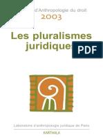 Les Pluralismes(1)