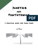 Alan Brown Quartals and Pentatonics for Jazz Piano