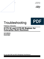 Caterpillar - Troubleshooting for c175-16 & c175-20 Engines for Caterpillar Built Machines