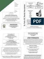 St Felix Catholic Parish Newsletter - 23rd Week of Ordinary Time