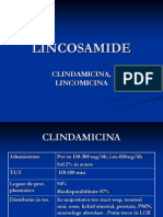 LINCOSAMIDE-tetraciclina