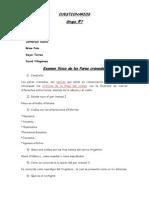 Cuestionario de Pares Craneales y Coma Grupo 7