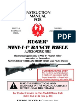 ruger Mini14 Instruction Manual