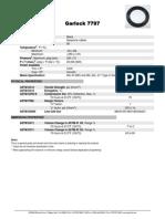 7797 - Premium Grade Neoprene Rubber Sheet