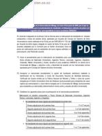 Acuerdo del Rectorado de la Universidad de Málaga, de fecha 30 de junio de 2009,