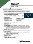 Data Sheet - SSR H-1F Coolant