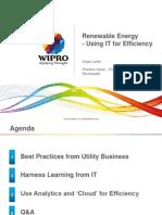 2. ANJAN LAHIRI Efficiency Using IT in Renewabe - Wipro v1.0