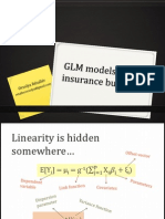 GLM Models in the Insurance Business
