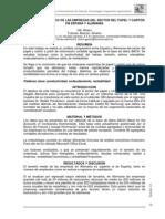 ANÁLISIS ECONÓMICO DE LAS EMPRESAS DEL SECTOR DEL PAPEL Y CARTÓN EN ESPAÑA Y ALEMANIA