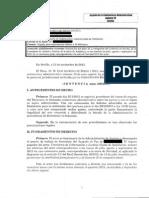 11112013 Sentencia JCA nº 10 Sevilla Paga extra funcionario