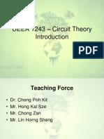 UEEA 1243 - Circuit Theory