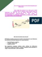 Medición de distancias a lo largo de líneas rectas interrumpidas por obstáculos cartaboneo