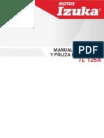 Manual IZUKA TL125A