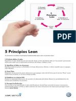 5 Principios Lean