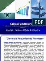 Custos Industriais Uerj 2010.1