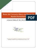 Acceso a Las Bases Integradas Del Convenio Marco de Bienes de Ayuda Humanitaria - LP N 001-2011OSCE-CM.