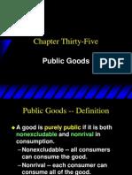 Ch35 Public Goods
