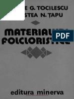 Materialuri folcloristice
