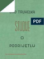 Ćiro Truhelka, Studije o podrijetlu.