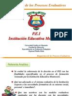 Diagnostico Evaluativo PEI Montessori