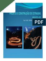 Aula 02 e 03 Projeto e Construcao de Estradas 1