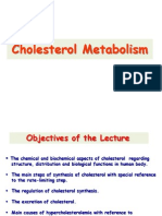 Cholesterol Metabolism- CVS